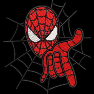 Spider-man Embroidery Design