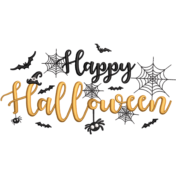 New Halloween Embroidery Design